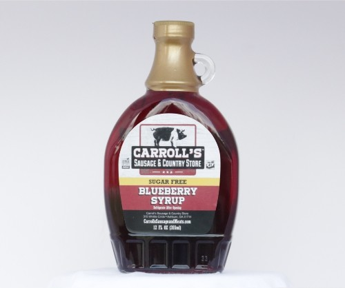 Sugar Free Blueberry Syrup